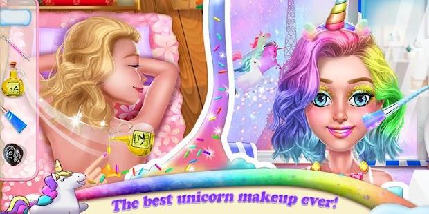 Unicorn Makeover Artist: World Travel