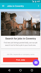 Jobs in Coventry, UK - screenshot