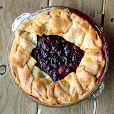 (Very) Rustic Four Berry Pie