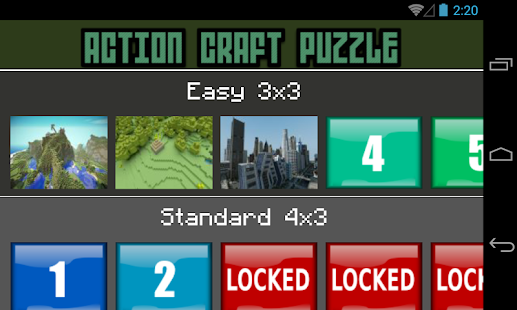 Action Craft Puzzle - screenshot