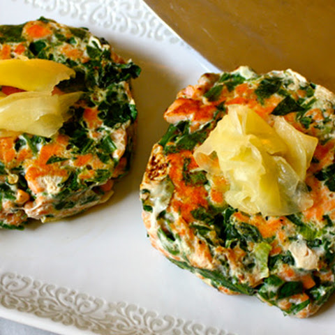 Spinach Salmon Patties