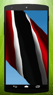 Trinidad And Tobago Flag LWP - screenshot
