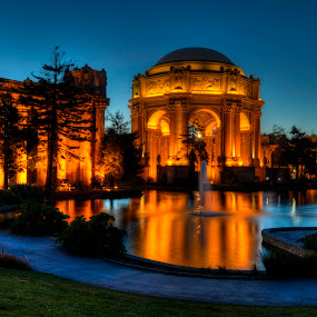 Palace of Fine Arts Park in SF CA by George Krieger - City,  Street & Park  City Parks