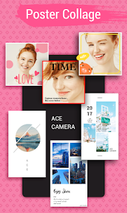 Ace Camera - Photo Editor, Collage Maker, Selfie- screenshot