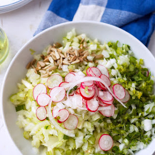 Fennel Celery and Radish Salad