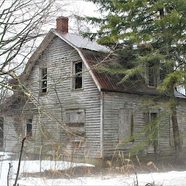 OLD  by Linda    L Tatler - Buildings & Architecture Decaying & Abandoned