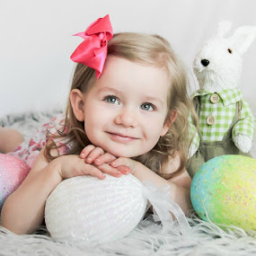 Beautiful Roz by Jenny Hammer - Babies & Children Child Portraits ( pretty, toddler, girl, easter, cute )
