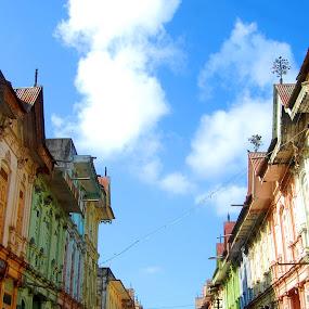 by Amit Suvera - City,  Street & Park  Street Scenes