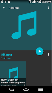 Liquid Music Player - screenshot