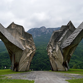 Wings by Sonja VN - Buildings & Architecture Statues & Monuments