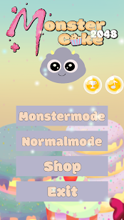 MonsterCake2048 - screenshot