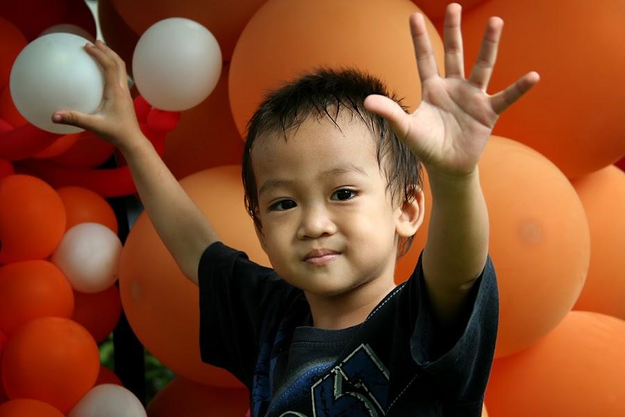 Cute by Andik Pribadi - Babies & Children Children Candids ( children, cute, boy, portrait )