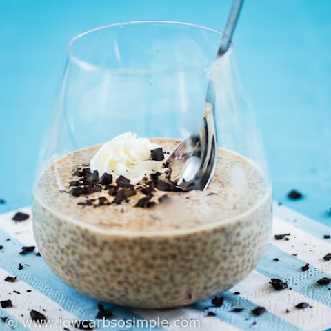 Coffee and Chocolate Chip Chia Pudding