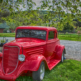 32 Plymouth by Pamela Wittern - Transportation Automobiles (  )