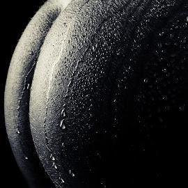 Drops by Hunter Van Eck - Nudes & Boudoir Artistic Nude ( water, nude, art, butt, droplets )