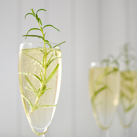 Rosemary Champagne Cocktail