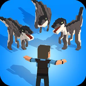 Jurassic Hopper: Crossy Dinosaur Shooter Game For PC (Windows & MAC)