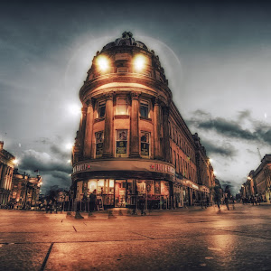 Pret A Manger Newcastle Monument Grainger Street Grey Street by Langshotphotography.jpg