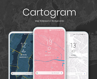 Cartogram - Map Wallpapers & Backgrounds Screenshot