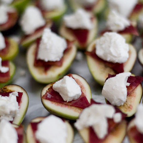Bacon & Goat Cheese Figs