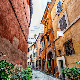Trastevere - Roma by Antonello Madau - City,  Street & Park  Historic Districts