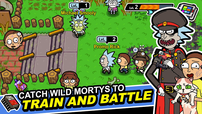 Rick and Morty: Pocket Mortys Screenshot 0