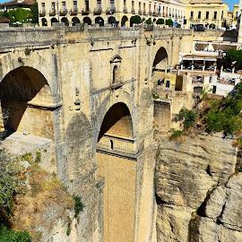Ronda,Spain by Francis Xavier Camilleri - City,  Street & Park  Historic Districts