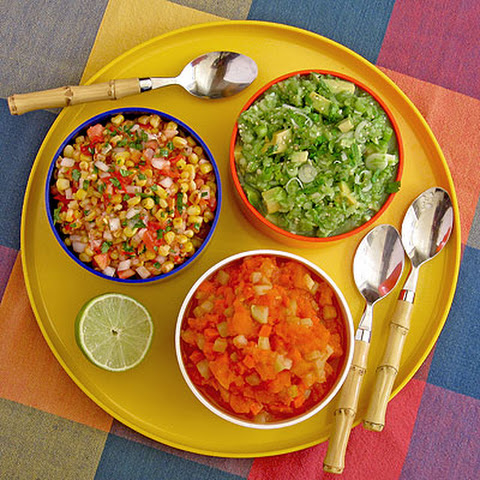 Spicy Papaya-Carrot Salsa