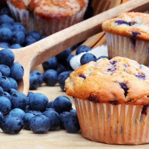 Blueberry Maple Muffins