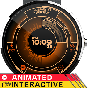Atomic Watch Face APK Cracked Download
