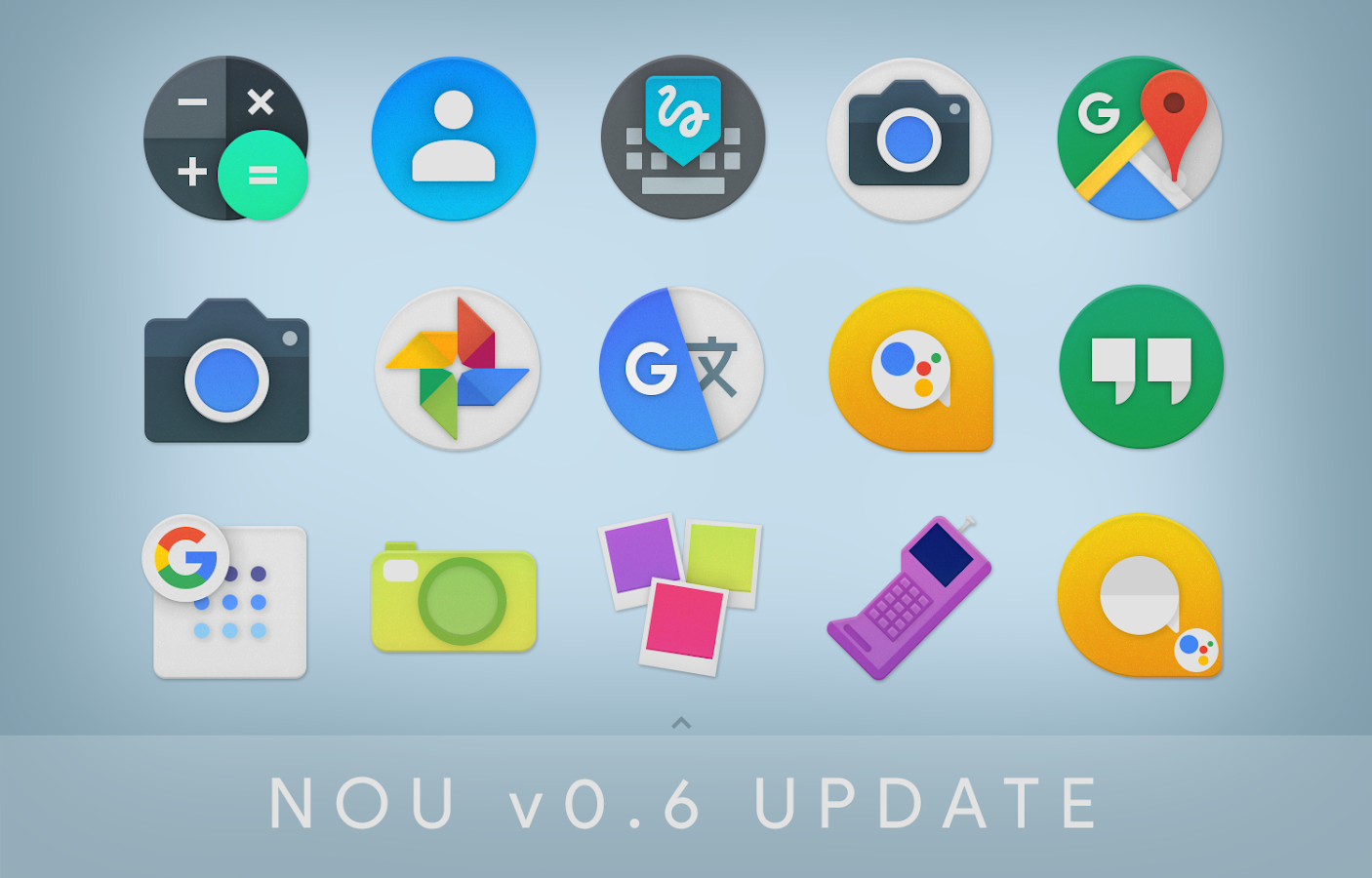 NOU - Icon Pack Screenshot 4