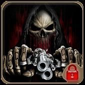 App Gun shooting skull theme APK for Kindle
