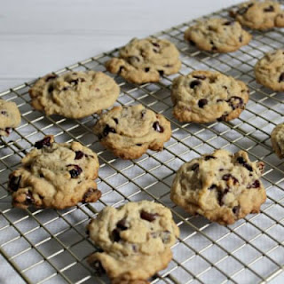 Orange Cranberry Chocolate Chip Cookies