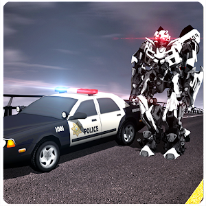 Robots war is ready to have fun in realistic environment of city. APK Icon