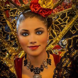 The Spanish Model by Mario Borg - People Fashion ( fashion, girl, costume,  )