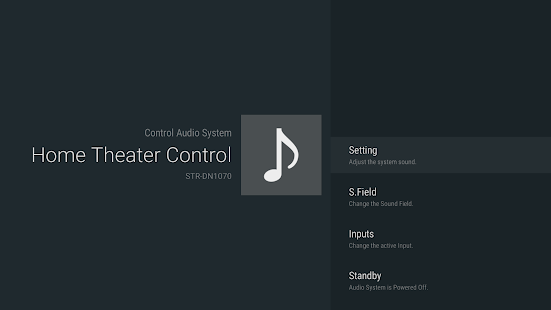 Home Theater Control