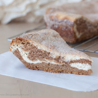 Layered Snickerdoodle Cream Cheese Cookie Pie