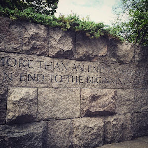 FDR Memorial off the National Mall. Submitted by @RhiannonGiddens