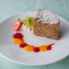 Light Dessert by Lee Davenport - Food & Drink Plated Food