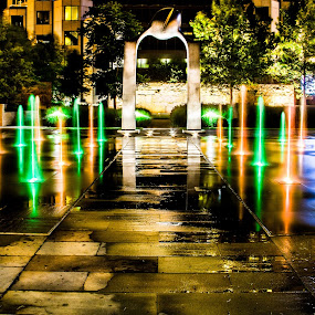 Spray plaza at Citygarden by Eric Bott - Buildings & Architecture Other Exteriors
