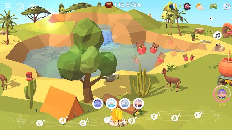 My Oasis - Calming and Relaxing Incremental Game Screenshot 5