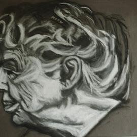 Helen Keller by Rose Clark - Drawing All Drawing ( author, annie sullivan, blind, deaf, helen keller )