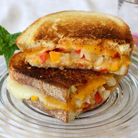 """Some Like it Hot"" Grilled Cheese Sandwich"