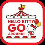 Hello Kitty Go Around Icon
