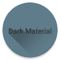 Dark Material theme for LG V20 APK for Bluestacks