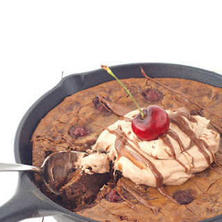 Black Forest Skillet Brownie (Guest Post)