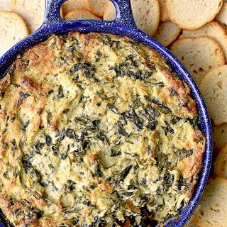 Spinach Artichoke Dip Mayonnaise Parmesan Recipes