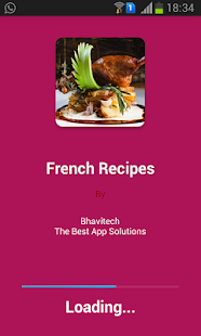 French Recipes - screenshot
