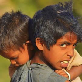 by Naeem Muntazer - Babies & Children Children Candids ( potrait, girl, nature, poor, baby boy )