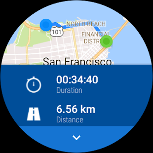 Runtastic Running & Fitness Tracker Screenshot